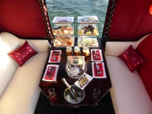 elegant dining island gondola