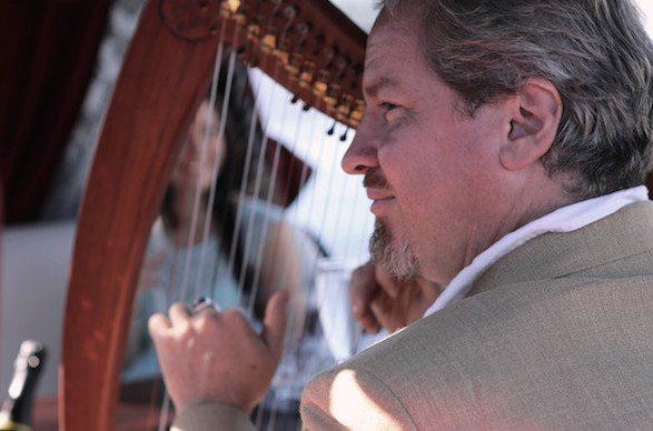 Gondola harp Kim Kirkman
